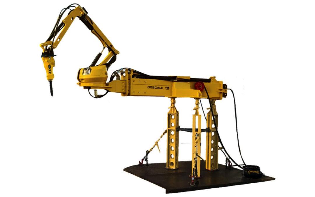 Nueva solución de Brokk para demoler costra y refractario de las torres de precalentamiento