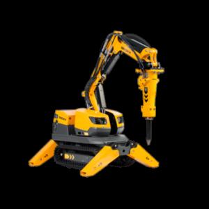 Robot de demolición Brokk 70