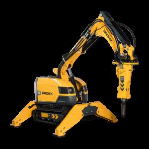 Robot de demolición Brokk 200