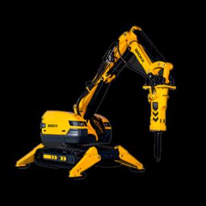 Robot de demolición Brokk 500
