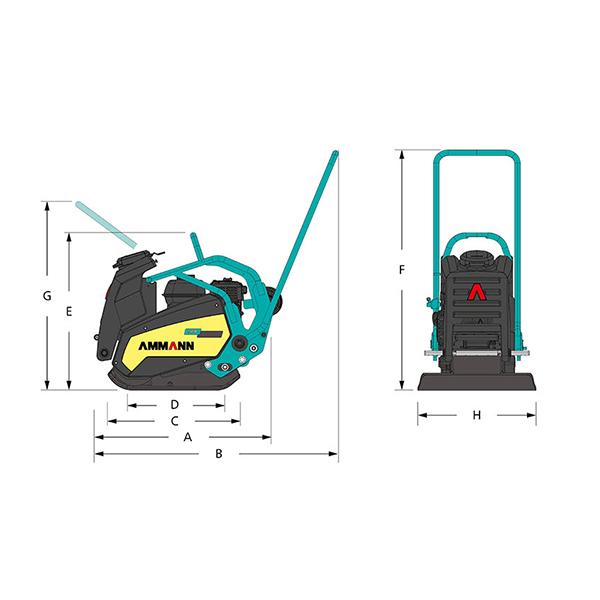 Compactadora unidireccional APF 2050-1