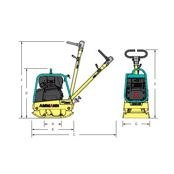 Compactadora Reversible APR 2220-3
