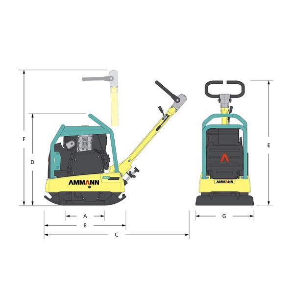 Compactadora Reversible APR 2550-2