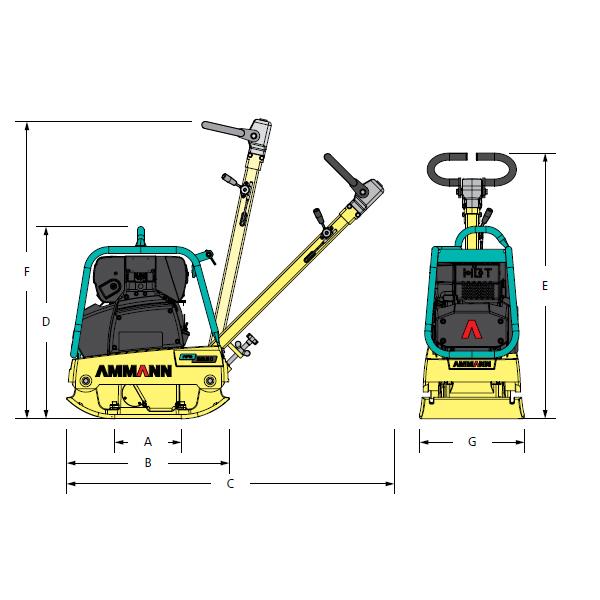 Compactadora Reversible APR 3520-2